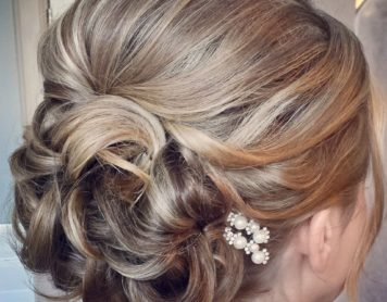 Bridal Hair up Style